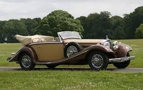 mercedes 500k 1936 mercedes 500k cabriolet b gooding company