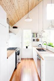 Small Contemporary Kitchen Designs - kitchen grey galley kitchen design galley kitchen design modern