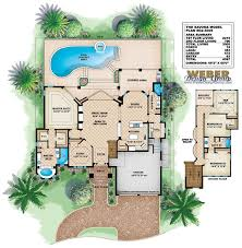 mediterranean house plans with pool mediterranean house layout homes zone