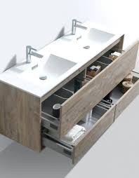 Bathroom Sinks And Vanities Wall Mounted Sink Vanity Nature Wood Mount Morn Bathroom