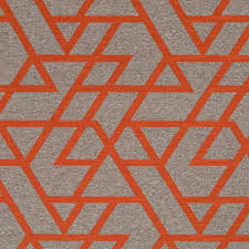 modern home decor fabric orange geometric upholstery fabric taupe home decor fabrics