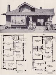 craftsman style house floor plans 1922 craftsman style bunglow house plan no l 114 e w