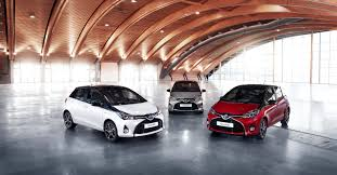 toyota europe toyota yaris gets bi tone and style grades for 2016my in europe