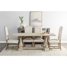 Dining Table Rustic Rustic Dining Room U0026 Kitchen Tables For Less Overstock Com
