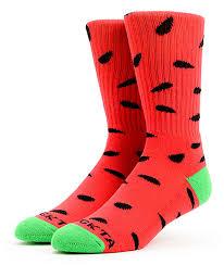 Biggie Smalls Socks Future Ofwgkta Watermelon Crew Socks
