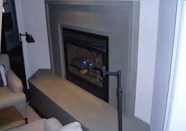 custom concrete fireplace surrounds brooks custom