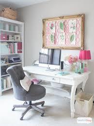 feminine home decor feminine home office craft room tour atta girl says