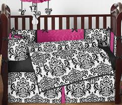 classy hot pink and black baby bedding easy home decor ideas with agreeable hot pink and black baby bedding fabulous home remodel ideas with hot pink and black