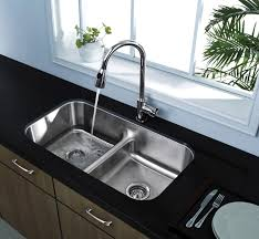 Stainless Steel Kitchen Sinks Undermount Reviews Kitchen Kitchen Steel Sinks 512 16 Undermount Low Divide