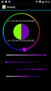 android color picker b4a library holo colorpicker v1 0 4 b4x community android