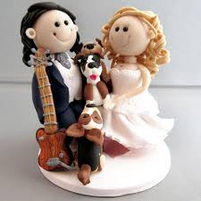 unique wedding cake toppers and groom unique wedding cake topper groom with pet dogs hapoly