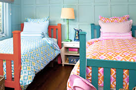 Design Ideas For Shared Kids Rooms  Boy Girl Bedroom Big Beds - Boys and girls bedroom ideas