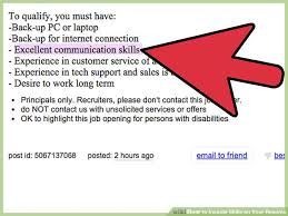 What To Put In Skills For Resume 3 Ways To Include Skills On Your Resume Wikihow