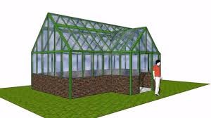 google sketchup greenhouse design youtube