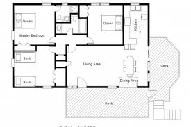 single story open floor plans single story open floor plans house plans image mag cottage