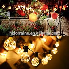 outdoor sockets for christmas lights 48 foot 14 4m outdoor weatherproof festoon party e27 string light