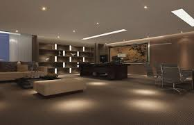 chairman office lighting design picture