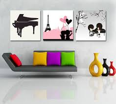 Aliexpresscom  Buy  Piece Modern Canvas Painting Kids Play - Canvas art for kids rooms