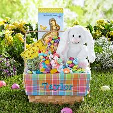 plush easter basket 2018 pre made easter baskets pre filled easter baskets