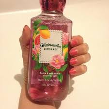 bath and body works watermelon lemonade shower gel