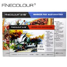 finecolour size a3 a4 bleedproof marker pad manga sketch marker