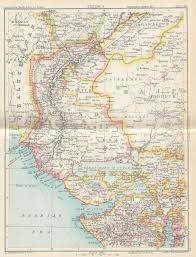 Gujarat Blank Map by Historical Maps Of India