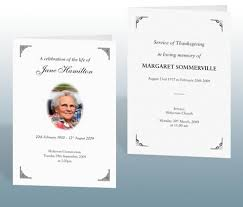 Funeral Stationery Funeral Stationery Examples Bereavement Printing