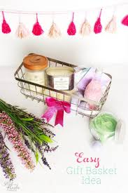 gift basket ideas for women easy and beautiful diy s day gift basket idea