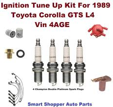 tune up kit 00 04 toyota tundra v6 spark plug wire set oil filter