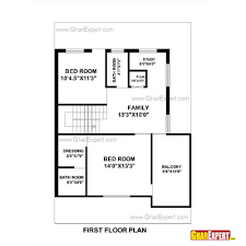 home maps design 100 square yard india house plan for 30 feet by 44 feet plot plot size 147 square yards
