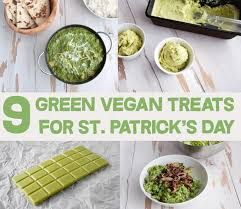 vegan s day 9 green vegan treats for st s day elephantastic vegan