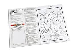 crayola color alive action coloring pages mythical creatures toy