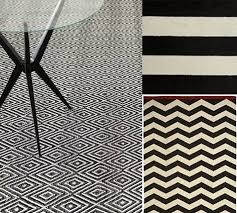 Black And White Zig Zag Rug Under 100 Rugs U2013 Design Sponge