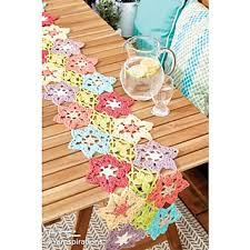 Crochet Table Runner Pattern Ravelry Flower Power Crochet Table Runner Pattern By Lily Sugar