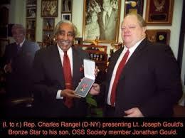 Us Army Decorations Congressman Charles Rangel Presents Bronze Star Posthumously