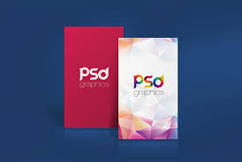 Business Card Mockup Psd Download Cool Vertical Business Card Mockup Free Psd Download Vertical