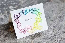 13 diy thank you cards to get ahead of the gifting