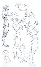 Human Figure Anatomy Anatomy And Construction George Bridgman Drawing The Human Body