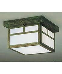 flush mount craftsman lighting arroyo craftsman mcm 12 mission 12 inch wide 2 light outdoor flush