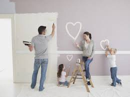 is there really a one coat paint it s this easy to paint designs on walls and ceilings