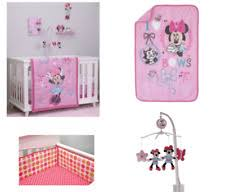 Crib Bedding Set Minnie Mouse by Minnie Mouse Crib Bedding Set With Bumper And Blanket Ebay