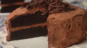 devils food cake recipe demonstration joyofbaking com youtube