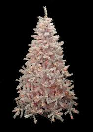 6 5 pre lit white cedar pine artificial tree multi