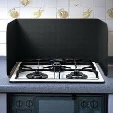 stove splash guard stove splatter screen velasco et range guard system kitchen oils