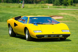 yellow lamborghini countach 1976 lamborghini countach lp400 u0027periscopo u0027 gallery supercars net
