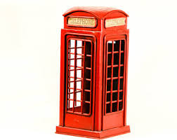 Red Phone Booth Cabinet London Phone Booth Etsy