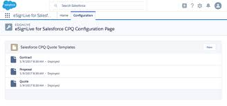 esignlive for salesforce cpq v1 0 deployment guide