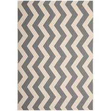 Safavieh Indoor Outdoor Rugs Safavieh Courtyard Zig Zag Grey Beige Indoor Outdoor Rug By
