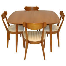mid century modern dining set by kipp stewart for drexel sun