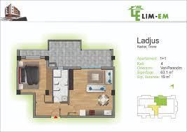 apartament 1 1 ladjus sip 63 1m2 lim em